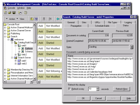 The Microsoft Management Console (MMC)