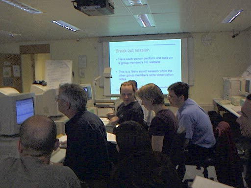 Figure 2: Participants at one of the parallel sessions