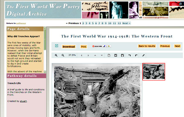 screenshot (79KB) : Figure 3 : Pathway on the Western Front