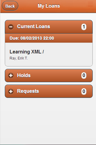 Figure 3: My Loans page