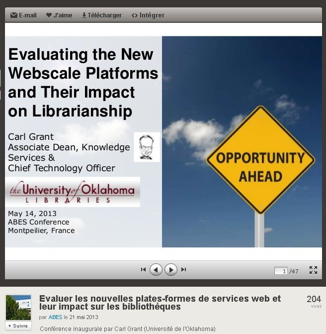 Figure 1: Opening page of 'Evaluating the Webscale Platforms and Their Impact on Librarianship'